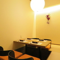 ゆったり広々席。10名様個室は2席用意。人数に応じた個室ご用意致します。