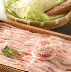 黒豚しゃぶしゃぶ 新宿 島津のおすすめ料理1
