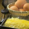 料理メニュー写真ぐつぐつ!鉄板だし巻き卵プレーン