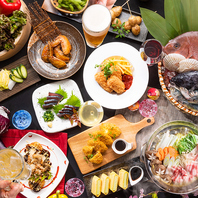 [福井駅前店]飲み放題付宴会コースは多種ご用意!