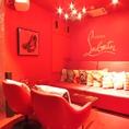 ★ルブタン★最大4名様まで可能です☆カップルシート使い可能な完全個室♪