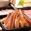 料理メニュー写真衝撃価格!! ずわい蟹&しゃぶしゃぶ 食べ放題コース