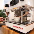 【#エスプレッソ】本格的なコーヒーをお愉しみいただけるようにBLANK SPACEにエスプレッソマシンが新登場!