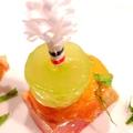 料理メニュー写真ハンガリー産ガチョウのフォアグラテリーヌ、バナナとシャインマスカット