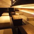 人気のロフトソファー席は女子会や誕生日会、貸切パーティーにもおすすめ。2名様から最大15名様までOK。