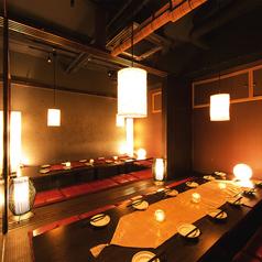 完全個室と食べ放題居酒屋 とりいち 新宿東口店の雰囲気1