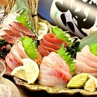 鮮度抜群の魚介と職人の技術が光る☆絶品料理の数々