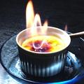 料理メニュー写真炎のプリン
