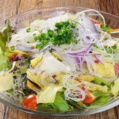 パリパリ豆腐サラダ