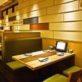 ゆったりBOX席も。友人とのお食事シーンに☆※画像は系列店です。