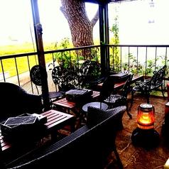 2階個室テラス席(雨天時のみ使用可能)(6~15名)