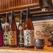 福岡の地酒や焼酎も豊富に揃えております。