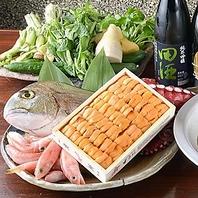 鮮度、日本各地からのこだわり鮮魚をご用意しています