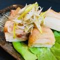 料理メニュー写真長芋の豚バラ包み焼き