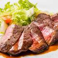 料理メニュー写真黒毛和牛ステーキ ・各種
