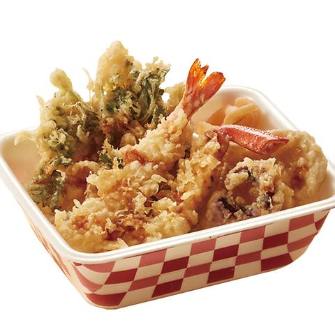 日本の伝統的な「天ぷら」を、お手頃価格で高品質な天丼・天ぷらでご提供!
