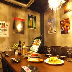 肉バルで肉寿司 ジョッキー 梅田店の雰囲気1