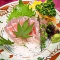 料理メニュー写真静岡港直送真鯛刺