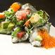 組合せ自由自在の手巻き寿司と食べ放題メニュー充実♪