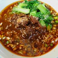 仙台で珍しい牛肉麺を提供
