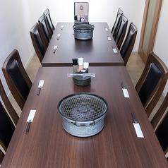 完全個室テーブル席8~12名様のご利用が可能