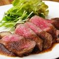 料理メニュー写真涙の和牛ステーキ