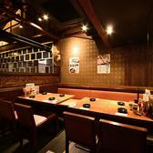 【2階】広々としたテーブル席