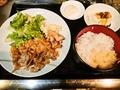 料理メニュー写真焼肉定食