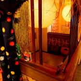 【個室】になっており大人な隠れ家的な、人気の席です