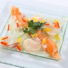 海鮮カルパッチョ / 海鮮サラダ