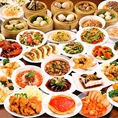 オーダー式100種類食べ放題!2時間飲み放題付きでお1人様3250円。本格中華料理から居酒屋の定番メニューまで幅広くご用意しております。