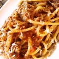 料理メニュー写真ボローニャ風スパゲッティー