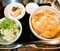 料理メニュー写真かつ丼定食