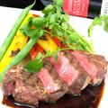 料理メニュー写真宮崎牛のステーキ -トリュフソース-