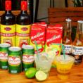 ビールをはじめブラジルのお酒があるので、異国の雰囲気を楽しむことができます★サンドイッチと一緒にお楽しみください!