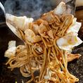 秘伝のスープが味の決めて!アツアツふわふわ定番の味【お好み焼き】と、食感もちもち!食べ応えも抜群【焼そば】など単品メニューもおすすめ!