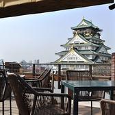 大阪城公園が一望できる屋上テラスでお楽しみいただく、フリードリンク付の前菜ブッフェ&贅沢BBQ