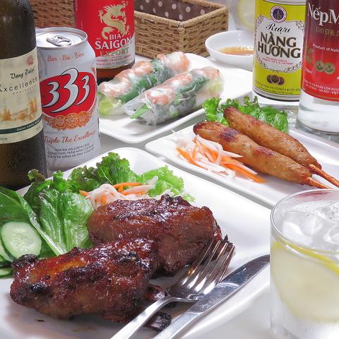 ベトナム郷土料理 カイユア