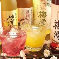 ウメ子札幌駅前店の梅酒◎豊富に20種類以上をご用意