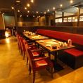 テーブル席は24名様までOK♪♪会社宴会など大人数様でのご宴会、歓迎会・送迎会などにもご利用頂けます。落ち着いた雰囲気でゆっくりとお食事頂けます。各種宴会に最適な飲み放題付きコースも多数ご用意!渋谷で居酒屋をお探しなら是非、土間土間渋谷文化村通り109前店へ♪【渋谷 居酒屋 個室 焼き鳥 和食 飲み放題】