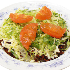 料理メニュー写真タコライス(スープ付)