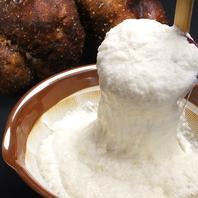 抜群の味、「つくね芋」使用の生地で作るお好み焼き