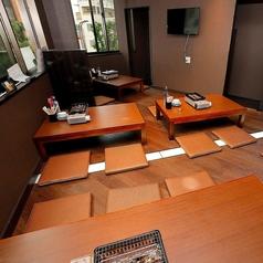 【3階】こぢんまりとしたお座敷席で、プライベートな宴会、お友達同士、会社の仲間との宴会に◎人気の為早めのご予約を!3階の貸切もご予約受付中です。