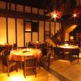 旧酒蔵の個室『源三屋』は20名~40名様までご利用できます。事前にお問い合わせください。