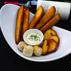 自家製3種のほくほくポテトフライ