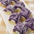 料理メニュー写真秋フェア*九州産紫芋のモンブラン
