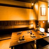 当店はテーブル席はもちろん、掘りごたつや座敷のお席も完備しております!こだわりのお席でご友人同士ゆったり飲みたいときや大切な方とのひとときにいかがでしょうか。