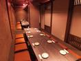 個室最大収容例!忘年会・新年会・送別会・歓迎会など…小宴会~大宴会までご利用お待ちしてます!