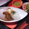 料理メニュー写真特製カレー(サラダ・スープ・ワンドリンク付)