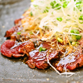 料理メニュー写真桜肉のたたき